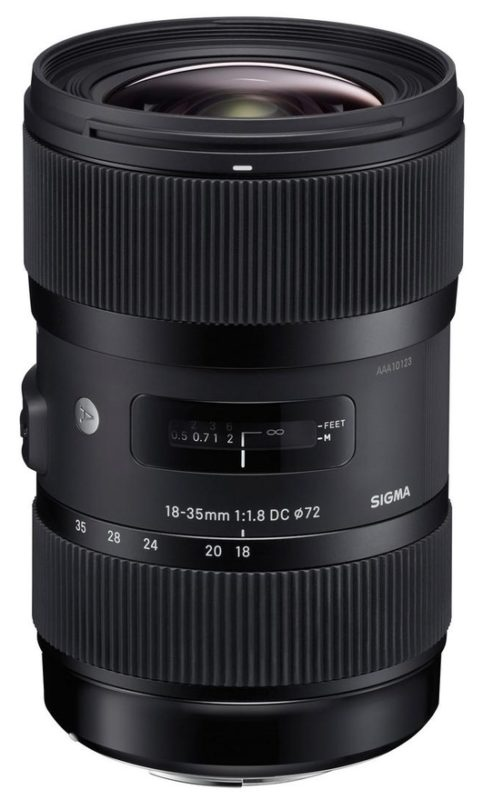 Sigma 18-35 mm f/1,8