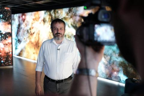 Jiří Dušek - ředitel Hvězdárny a planetária Brno